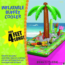 Inflatable Palm Tree Buffet Cooler for Beverages Ice Drinks Party Supplies ~ 4ft