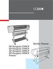 HP DesignJet 2500CP 3500CP 2000CP 3000CP - Service Manual PDF