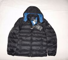 Mens Abercrombie & Fitch Water Resistant Down Quilted Hoodie Jacket Size M, L,