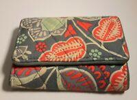 Vera bradley women's credit card Id holder wallet in nomadic floral