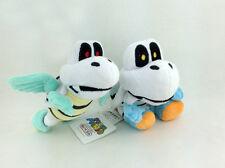 "2X Super Mario Bros Dry Bones Parabones Koopa Troopa Plush Toy Stuffed Animal 6"""