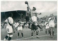 144.  Football Peru - Austria 4:2 Quarter finals OLYMPIC GAMES 1936 CARD