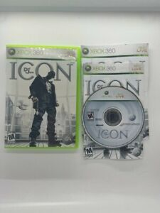 Def Jam Icon XBOX 360- Tested And Working- Complete With Manual