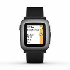 Pebble Time Smart Watch Jet Black