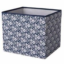 IKEA DRÖNA Fach Geblümt Schwarz-Weiss Kallax Regal Regalboxen Aufbewahrungsbox *