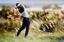trevor immelman signed 12x8 golf open pro golfer
