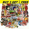 52 Stickers Lot Rock Band Punk Music Heavy Metal Bands Laptop Bumper Xmas Gift