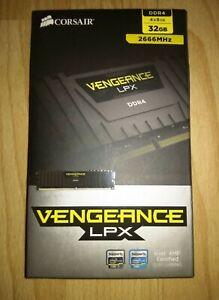 Corsair Vengeance LPX 32GB (4x8gb) 2666MHz DDR4