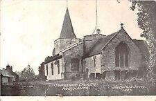 POSTCARD   NORTHANTS   SYRESHAM  Church