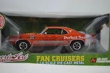 1:18 route 61 1969 CHEVY CAMARO RS Texas des bêtes à cornes BCS College Football RAR! $