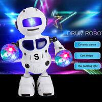 Enfant Robot Jouet Lumière Musique Interactif Dansant Marchant Cadeau de Noël