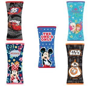 Genuine Disney Car Seat Belt Pad Safety Cushions Minnie,Cars,Frozen,Mickey