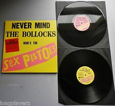 Sex Pistols - Never Mind The Bollocks 2012 35th Anniversary Limited DBL LP