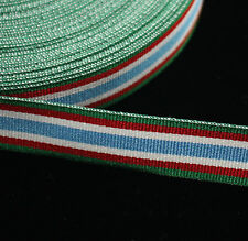 "100"" of MMR 119 Canadian Peacekeeping Service Medal, Miniature Ribbon 16mm"