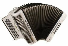 Hohner Button Accordion Corona II XTREME EAD, With Bag And Straps, Pearl White
