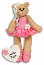 BALLERINA Personalized Christmas Ornament by Deb & Co.