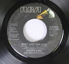 Soul 45 Evelyn King - Don'T Hide Our Love / The Best Is Yet To Come On Rca