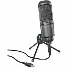 Audio-Technica AT2020USB+ Cardioid Condenser Studio USB Microphone