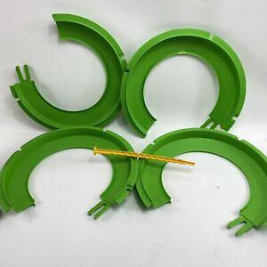 Vtg Mattel  High Winder Green Track Column 1970 Sign Lot HTF Triple Loop Parts