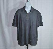 Hugo Boss Gray Slim Fit Short Sleeve Polo Shirt Men's Sz 2XL