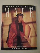 International Male Autumn 1990. John Watkins Cover!  (gay interest)