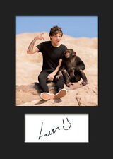 LOUIS TOMLINSON (One Direction) #4 Signed A5 Mounted Photo Print - FREE DELIVERY