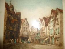 Etching Architecture Original Art Prints