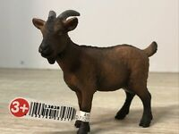 Schleich DOMESTIC NANNY GOAT 13828 Brown Female Dairy Farm Animal figure New