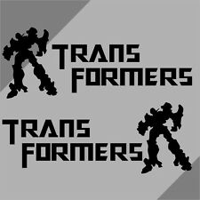 Car Transformers Deception  Vinyl Side sticker Wind Miior Decal #TF38 2pcs set