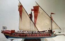 Heller La Reale de France - two sails for model, 1:75, sewed on CNC machine
