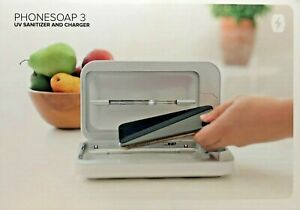 #1352   PhoneSoap 3 UV Phone Soap Sanitizer Universal Charger Brand New - Sealed