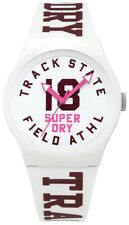 Superdry Women's Analogue Quartz Watch with Silicone Strap SYL182VW