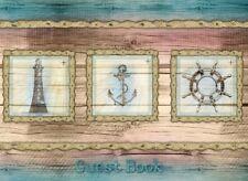 Guest Book Vintage Nautical Design, Visitors Book, Guest Comments Book, Vacatio