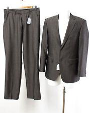 Benvenuto Anzug Gr. 46 Wolle-Seide-Mix Sakko Hose Business Suit