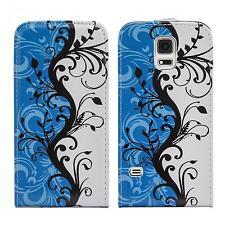 Handy Tasche für Samsung Galaxy Schutz Hülle Motiv Flip Cover Case Klapp Tasche