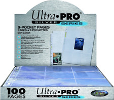 Ultra Pro - 9er Pocket-Pages Silver 100 Seiten