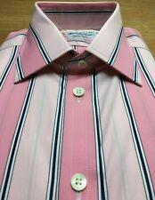 TURNBULL & ASSER City Stripe Shirt, UK:15.5, EU:39, RRP: £225! BNWT