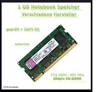 1GB NOTEBOOK SPEICHER - PC5300 - 667Mhz - LAPTOP - 200pin SO DIMM