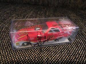 Cruz Pedregon SIGNED 1:64 Racing Champion Pomona Raceway FINAL10/28-31/93 1/2500