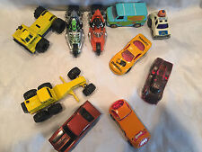 Mixed Lot of 10 Vintage Hot Wheels, Ertl, Champion Racers Cars, Tractors, Cycles