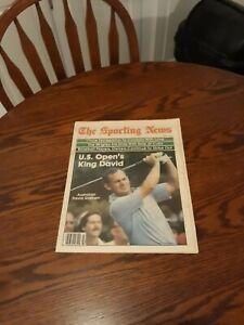 JULY 4,1981-THE SPORTING NEWS-U.S. OPEN WINNER DAVID GRAHAM(MINT)