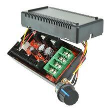40A 2000W 12V 24V 48V MAX 10-50V DC Motor Speed Control PWM HHO RC Controller