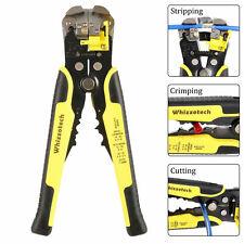 Professional Self Automatic Wire Striper Cutter Stripper Crimper Pliers Adjust