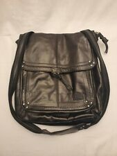 The SAK Leather Crossbody Shoulder Bag Convertible PURSE and Backpack (Brown)
