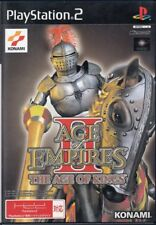 PS2 AGE OF EMPIRES II THE AGE OF KINGS PlayStation 2 Japan F/S