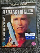 Last Action Hero 4K + Blu Ray (Brand New & Sealed)
