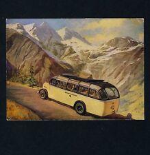 Österreichische Post POSTAUTO AUF GROSSGLOCKNER ALPENSTRASSE Bus * AK um 1930