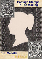 POSTAGE STAMPS IN THE MAKING Melville Printing Engraving Plates Dies Paper - CD