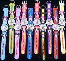 Ideal Birthday Present.Mickey/Minnie Mouse unisex Wrist Watch.Yellow Strap.