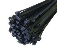 100 Stk. Kabelbinder Kabelschelle Halogenfrei 200x3,6mm Schwarz JSKB20036-S